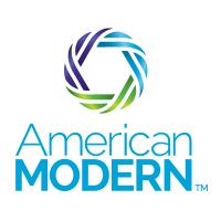 american modern green blue circle matrix logo